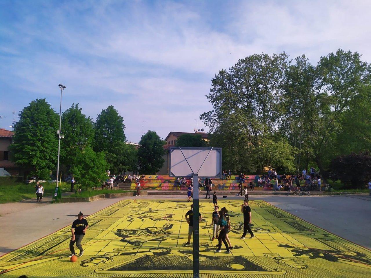 urbaner collettivo fx 22 aprile calcio campo sport